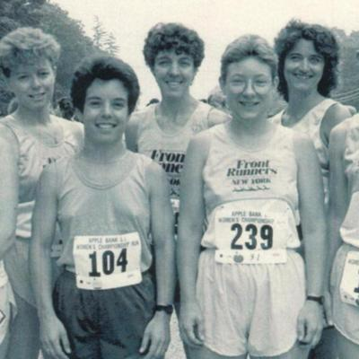FRNY members at Long Island Women's 5K Championship, circa 1988-1993