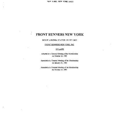 Front Runners New York By Laws.pdf