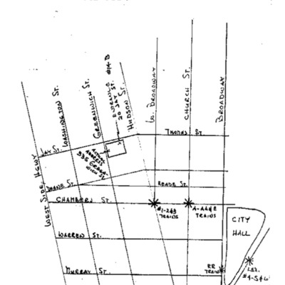 Halloween Party map, 1980