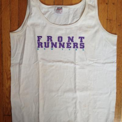 Front Runners NY singlet (approx. 1994-1995)