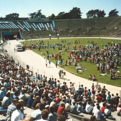 Gay Games 1986 - Closing Ceremonies - Kezar Stadium - San Francisco - 1.jpg