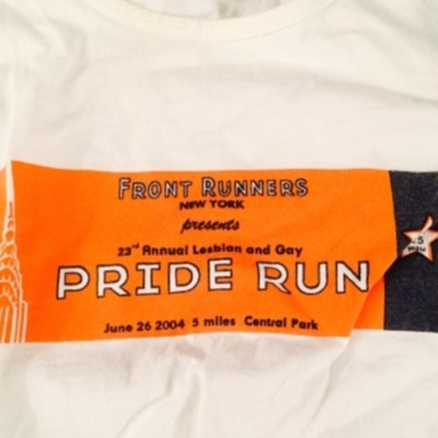 23rd Annual Lesbian and Gay Pride Run, June 26 2004, 5 miles, Central Park [T-Shirt]