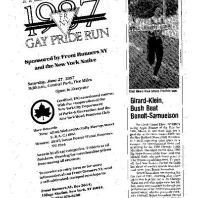 Pride Run advertisement in NY Running News.pdf