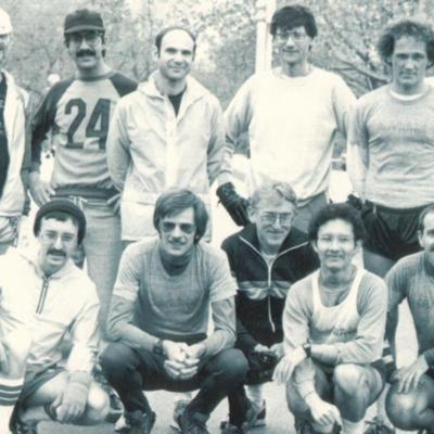 Front Runners group portrait, 1980