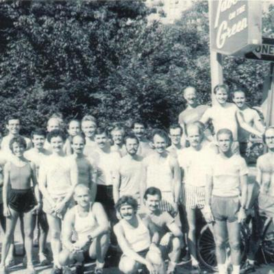 Front Runners group portrait, 1981
