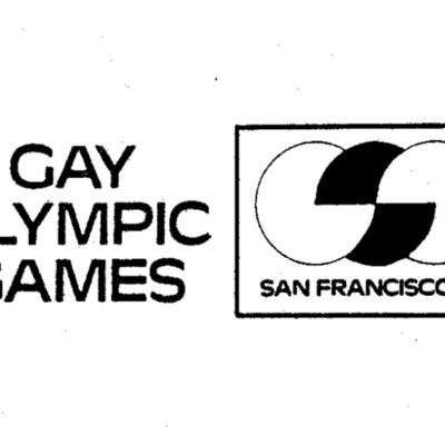 Gay Olympic Games 1982 application, San Francisco