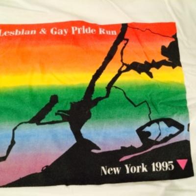 Lesbian & Gay Pride Run, New York 1995 [T-Shirt]