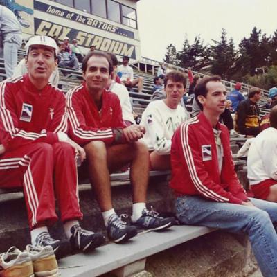 Gay Games 1986 - Joe Piliero, Joe Criscione and Lee Last Name TBD.jpg