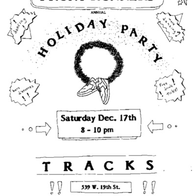 FRNY Annual Holiday Party [flyer]