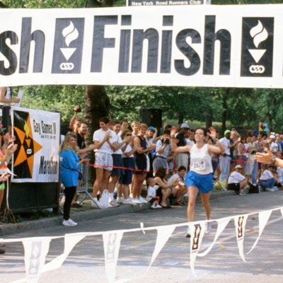 Gay Games New York Finish Line Photo, 1994