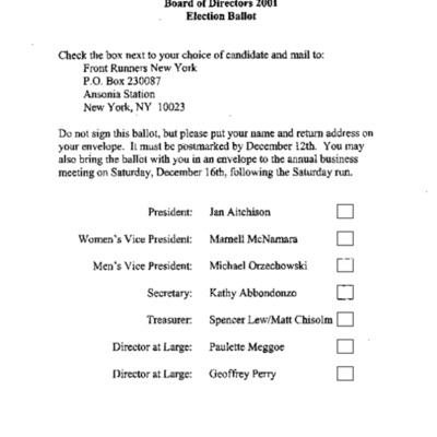 Board of Directions Election 2001 ballot.pdf