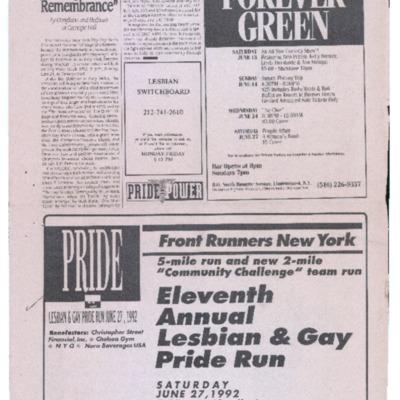 Pride Run advertisement in Sappho's Isle newspaper.pdf