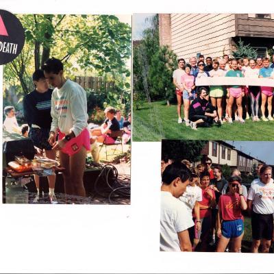 FRNY member picnic photographs, 1990-1993