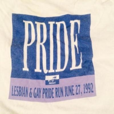 Pride: Lesbian & Gay Pride Run June 27, 1992 [T-Shirt]